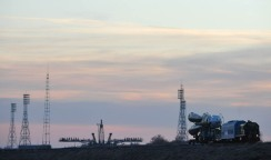 The Soyuz TMA-22 rocket