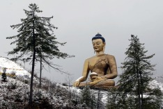 Buddha in Thimphu