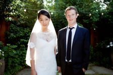 Mark Zuckerberg, Priscilla Chan: just married!