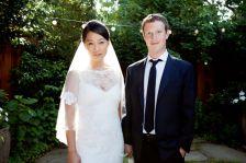 Mark Zuckerberg, Priscilla Chan: just married!