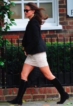 Pippa Middleton with boots