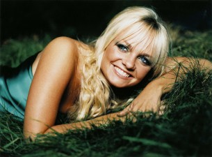 A close up picture of Baby Spice Girl Emma Bunton