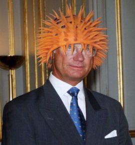 King Carl Gustav of Sweden