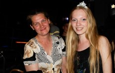 Nadya Vall and her mother
