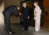 Barack Obama, Akihito, Michiko