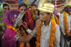 Newly engaged youth below India's legal