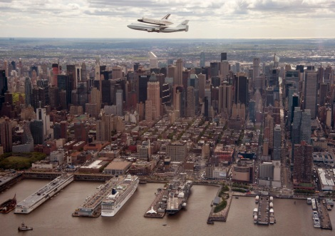 Space Shuttle Enterprise Manhattan