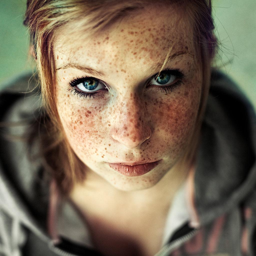 Cum on freckles