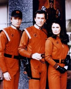 Visitors in uniform