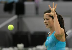 Ana Ivanovic ball