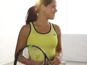 Ana Ivanovic yellow