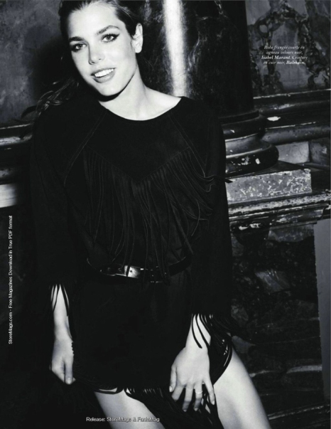 Charlotte Casiraghi Vogue Pages