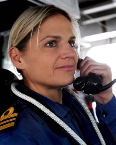 Lt Cdr Sarah West