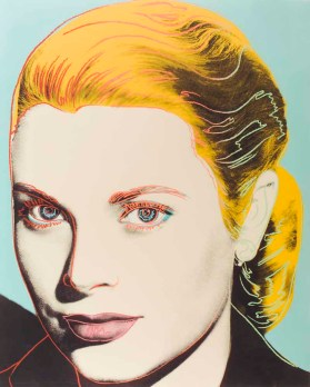 Grace Kelly by Andy Warhol