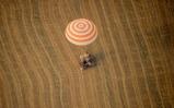 Landing Soyuz TMA-22
