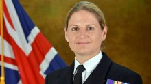 Lt Commander Sarah West