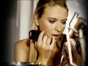 Maria Sharapova lipstick