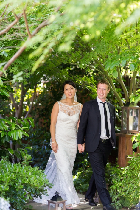 Mark and Priscilla, newlywed