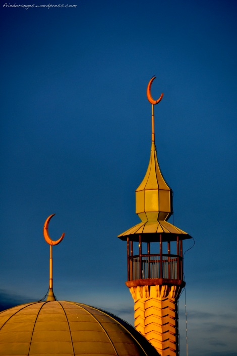Mosque, Uppsala. Sweden.