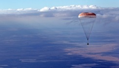Re-entry Soyuz TMA-21