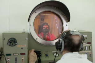 Russian cosmonaut Sergey Volkov