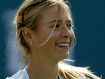 Sharapova close up
