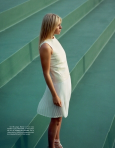Sharapova Green Four