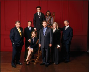 Boston Legal red