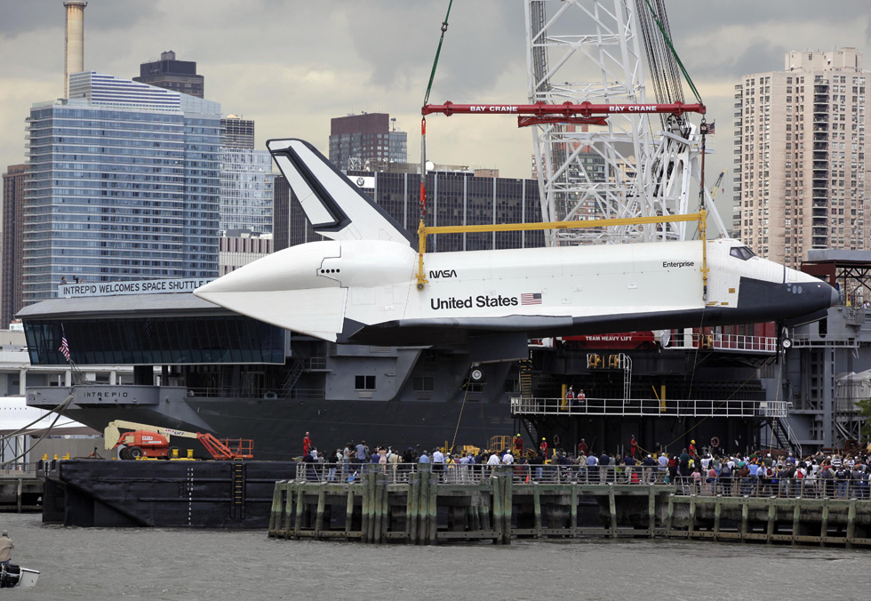 Intrepid Space Shuttle | The Incredible Tide