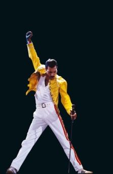 Iconic Freddie Mercury