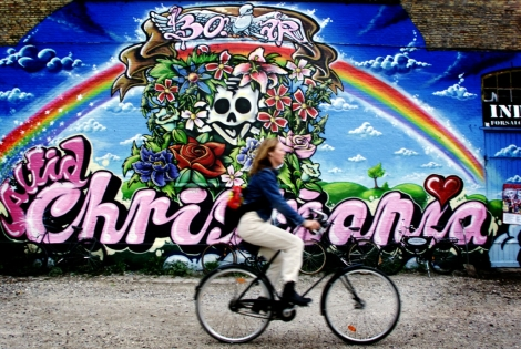 Bike in Christiania