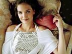 Katie Holmes Sofa Gold