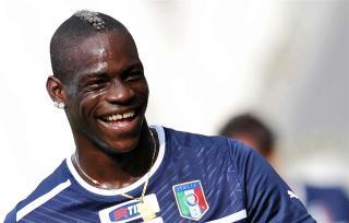 Mario Balotelli Smile
