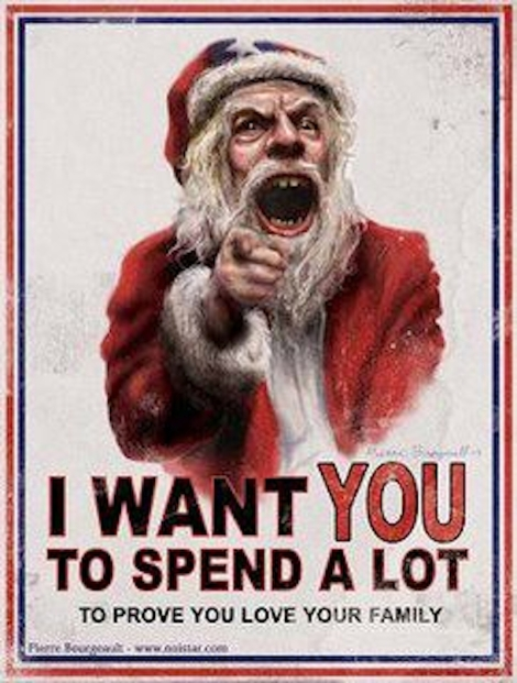 I want you, to spend a lot.