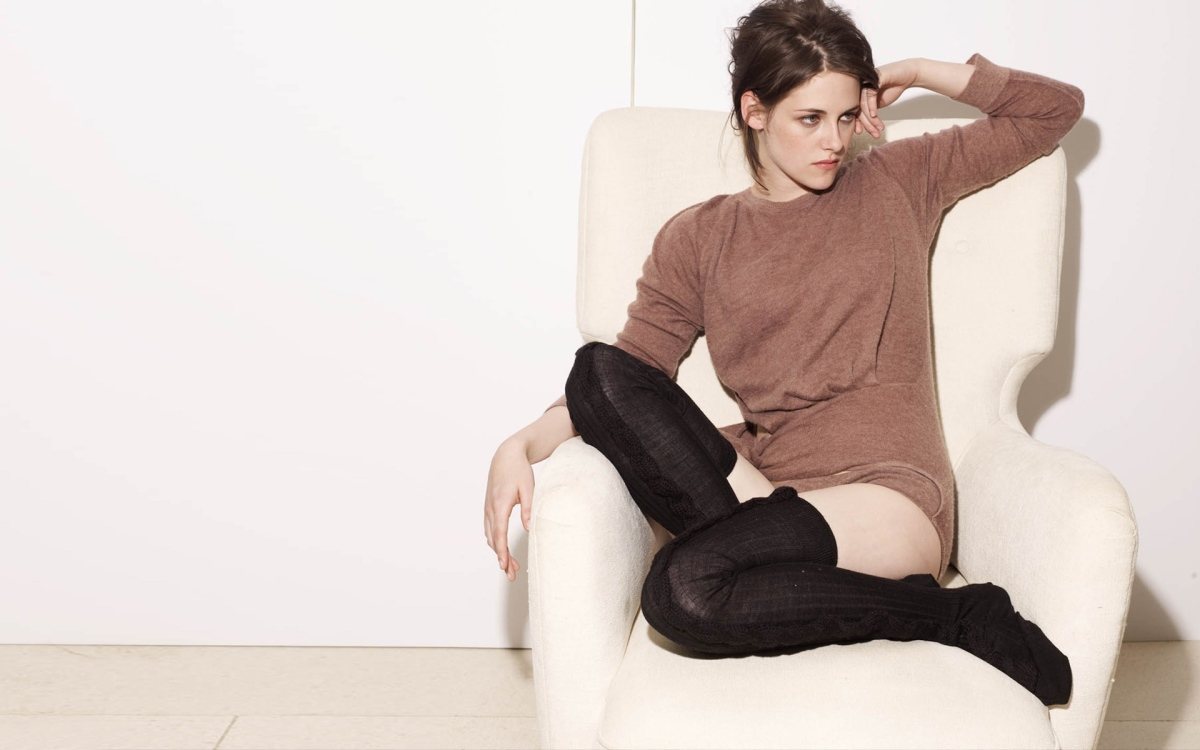 kristen stewart thigh highs