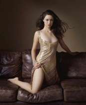 Summer Glau gold