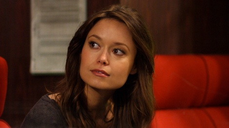 Summer Glau on a train TBBT