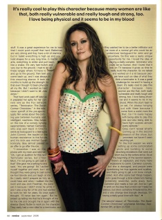 Summer Glau Venice Magazine