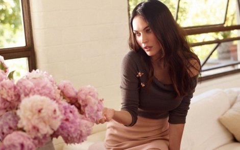 megan fox flowers
