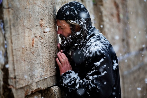 Wailing Wall Snow