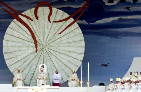 Pope Benedict XVI Makes First Oficial Trip To Bari