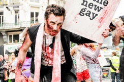 Gay Pride Belgium 2013 Zombies