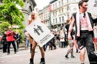 Gay Pride Belgium 2013 Zombies