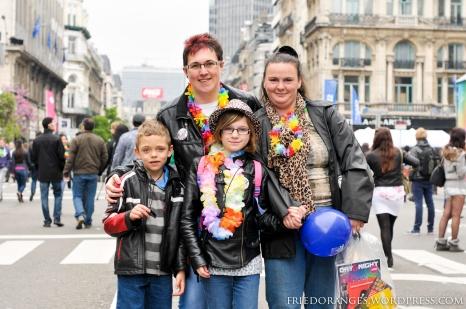 Gay Pride Belgium 2013 Happy Family