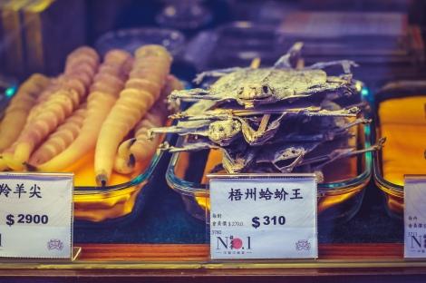 Some yummy flying lizards, Hong Kong