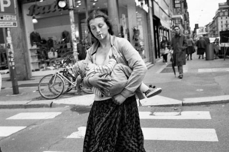 Fabio Giannelli Gypsy mother with child