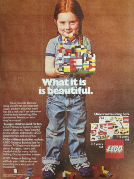 Lego is for geeks