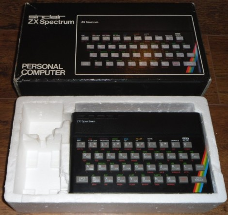 My old Sinclair ZX Spectrum. Almost like an iPad, then in the eighties!