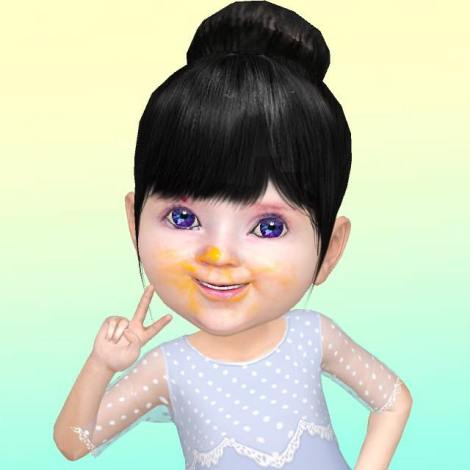 My daughter, according to the viral Chinese App