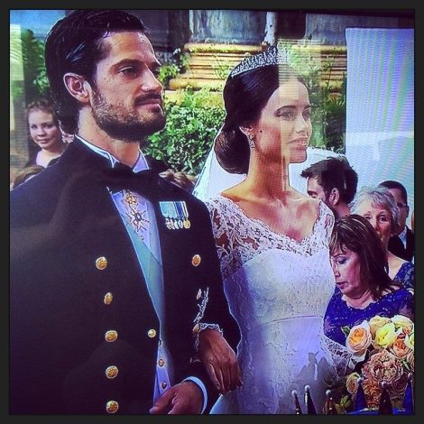 Sofia Hellqvist getting married to her Prince Sausage.